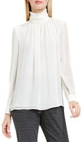 Vince Camuto Petite Women's Ruffle Collar Blouse
