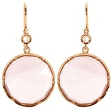 Irene Neuwirth 18kt Rose Gold Earrings With Rose De France Amethyst And White Diamond