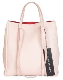 Marc Jacobs Women's The Tag Tote 27 Leather Bag - Blush