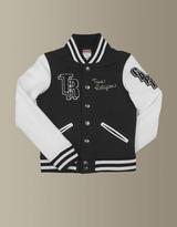 True Religion Girls Richie Varsity Jacket - (Black)