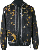 Versace Baroque Medusa print jacket - men - Cotton/Polyester - 46