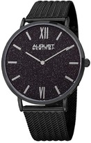 August Steiner Men's Mesh Bracelet Watch