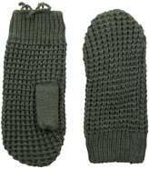Hat Attack Waffle Stitch Mitten with Lining