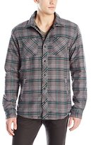 Quiksilver Men's Tippers Flannel Shirt