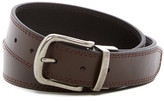 Bill Adler Reversible Double Stitch Leather Belt