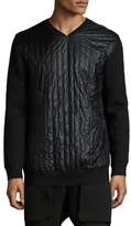 Helmut Lang Quilted Front Sweatshirt