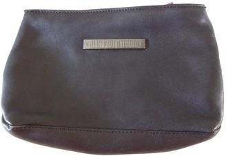 Jean Paul Gaultier Black Leather Clutch bags