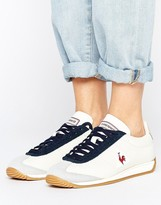 Le Coq Sportif White Leather Quartz Sneakers