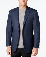 Lauren Ralph Lauren Men's Classic-Fit Blue Mini Check Sport Coat