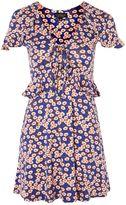 Topshop TALL Daisy Frill Tea Dress
