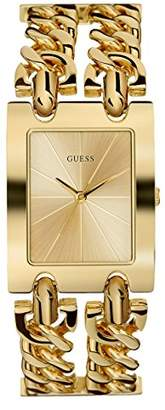 GUESS Tone Multi-Chain Bracelet Watch with Self-Adjustable Links. Color: -Tone (Model: U1117L2)