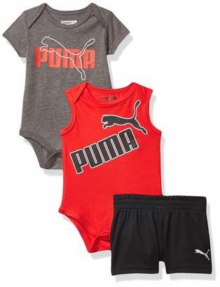 Puma Baby Boys' Bodysuit & Shorts