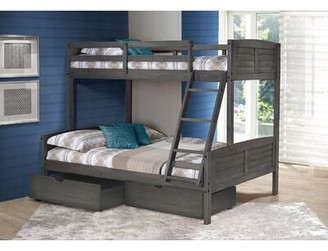 "Birch Laneâ""¢ Heritage Bellin Bunk Bed with Drawers Birch Lanea Heritage Size: Twin over Full"