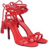 Valentino Garavani Rockstud Flair suede sandals
