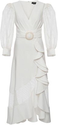 PatBO Belted Waist Dress