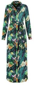 Pom Amsterdam - Flower Play Emerald Maxi Dress - 34