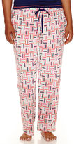 JCPenney SLEEP CHIC Sleep Chic Cotton Sleep Pants - Plus