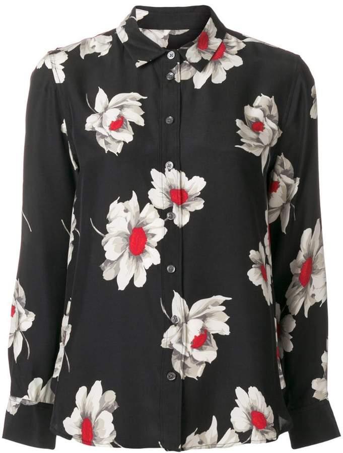 Equipment floral print shirt