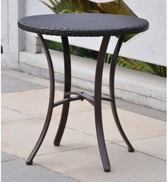 Brayden Studio Katzer Bistro Table Color: Chocolate