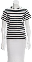 Comme des Garcons Striped Layered Top