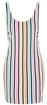 Motel **Merge Stripe Mini Dress