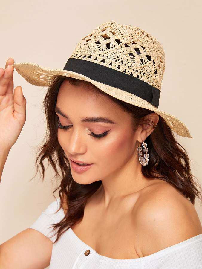8c4aa41963327 Straw Hat Band - ShopStyle