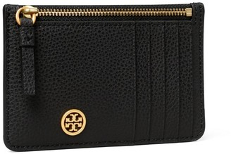 Tory Burch Walker Top-Zip Card Case