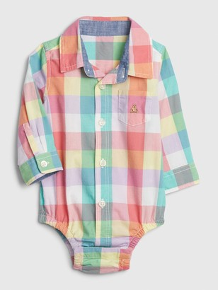 Gap Baby Brannan Bear Polo Shirt Bodysuit
