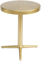 ZUO Brass Derby Accent Table