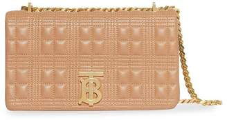 Burberry beige quilted lola bag