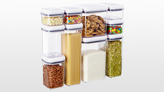 Container Store 4 qt. Square POP Canister