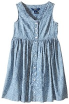 Polo Ralph Lauren Chambray Dress (Big Kids)