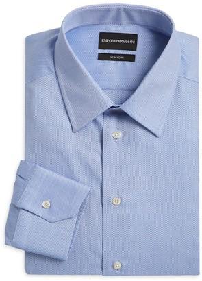 Emporio Armani Textured Dress Shirt