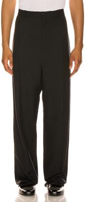 Balenciaga Baggy Tailored Pants in Black   FWRD