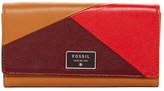 Fossil Dawson Leather Flip Clutch Wallet