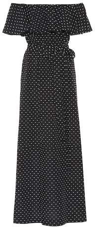 Lisa Marie Fernandez Mira flounce cotton off-the-shoulder dress