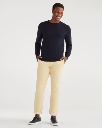 7 For All Mankind Corduroy Slim Chino in Maple