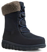 FitFlop Loaff TM Leather Lace-Up Ankle Winter Boots