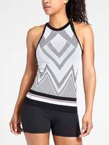 Athleta Chevron Stripe Trophy Tank