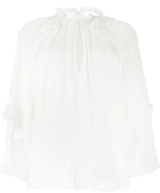 Etoile Isabel Marant Jayden ruffle blouse