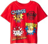 Nickelodeon Paw Patrol Little Boys' Group T-Shirt