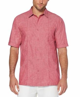 Cubavera Double Pocket Pintuck Shirt