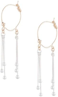 Petite Grand Double Tassel Earrings