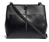 Kara Tie top leather crossbody bag