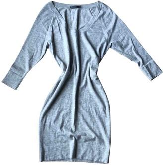Donna Karan Grey Cashmere Dress for Women