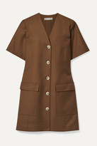 Anna Quan ANNA QUAN - Portia Twill Mini Dress - Brown