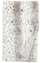 Nordstrom Snow Leopard Faux Fur Throw