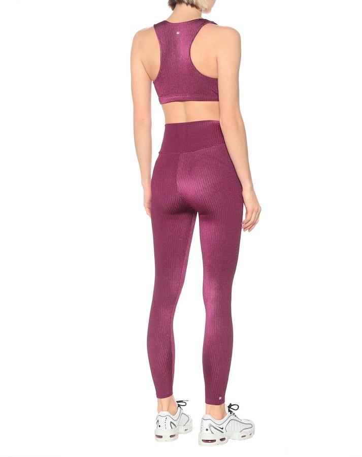 Thumbnail for your product : Lanston Highland jacquard sports bra