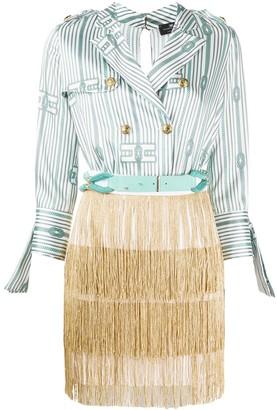 Elisabetta Franchi Combined Blazer-Dress