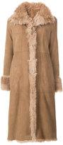 Drome fur-trim coat